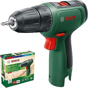 Bosch taladro/atornillador a batería EasyDrill 1200 (sin batería, sistema de 12 V, en caja): Amazon.es: Bricolaje y herramientas