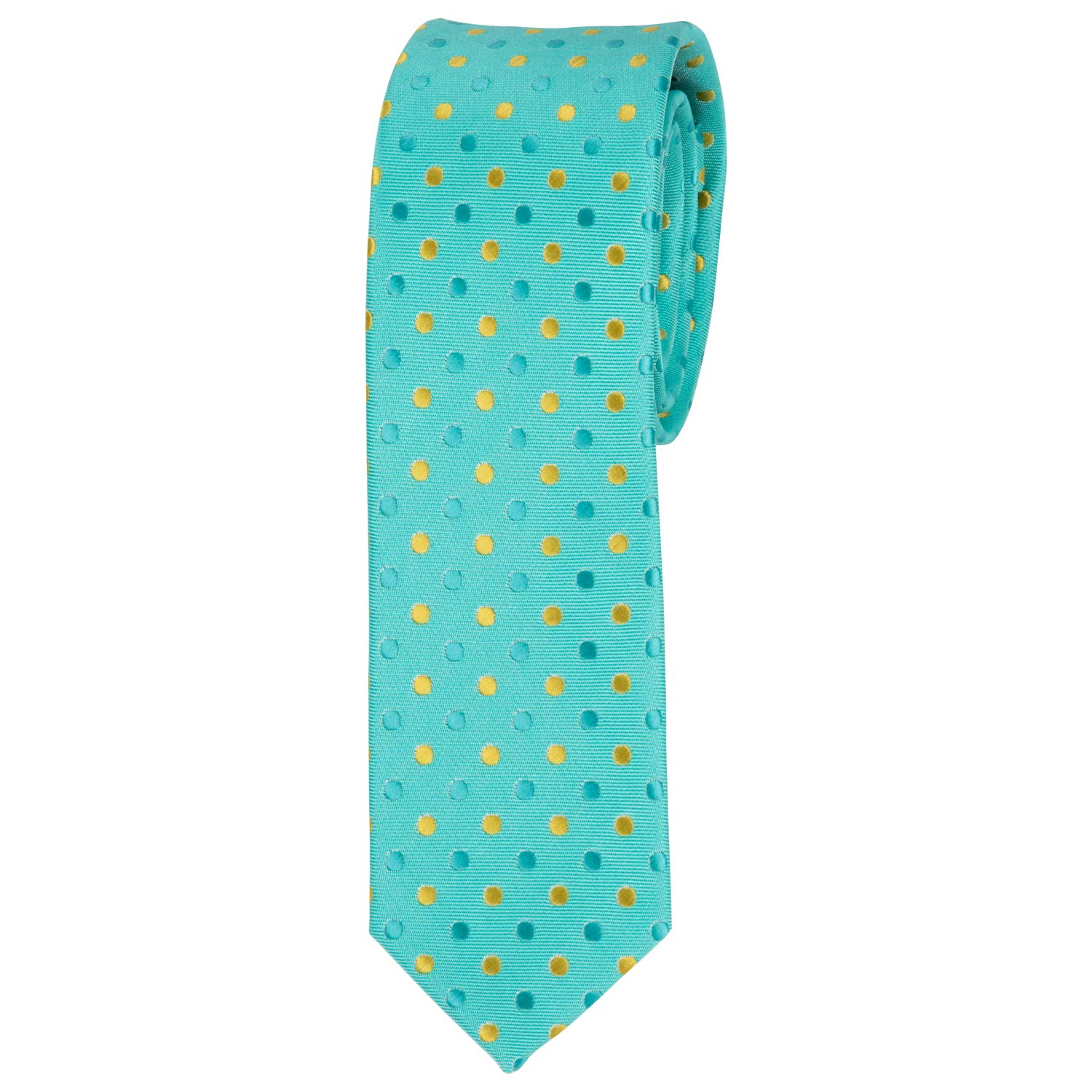 51 Casual Smooth Microfiber Necktie Ties For Boys Ages 8-14