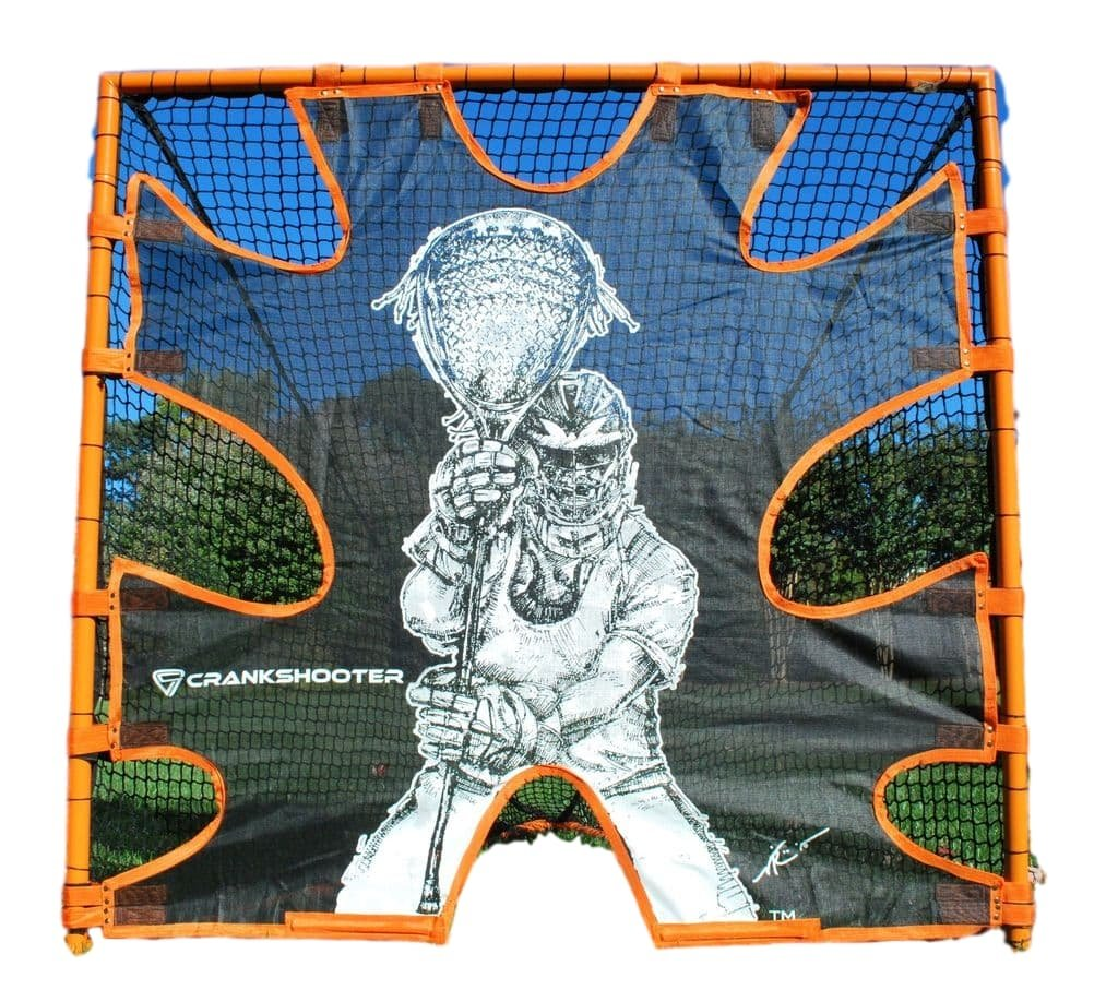 CrankShooter Shot Trainer, Hi-Impact Lacrosse Practice Goal Target, Triple Stitching and Easy Installation, Accuracy Training Equipment-Goal Not Included