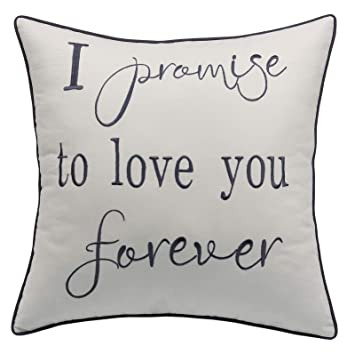 Amazon.com: YugTex Fundas de almohada I Promise to Love You ...