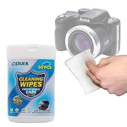 DURAGADGET Toallitas para Cámara Kodak Pixpro AZ422: Amazon.es ...