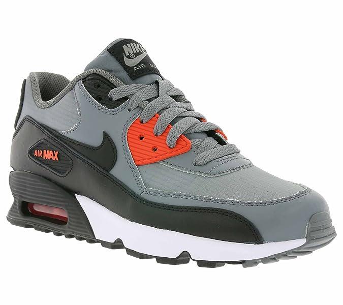 Nike Air Max 90 Mesh (Gs) Scarpe Sportive, Ragazzo, Cool