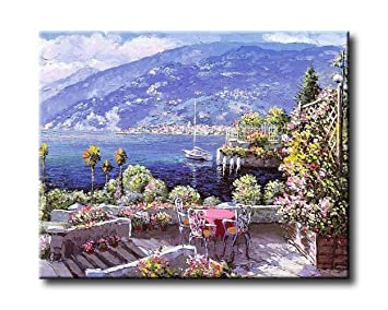 Acrylic Painting Dusk Mountain Landscape 16X20 Inch Adults Paint by Number Kits Frameless Adult/'s Paint by Number Kits Shukqueen DIY Oil Painting