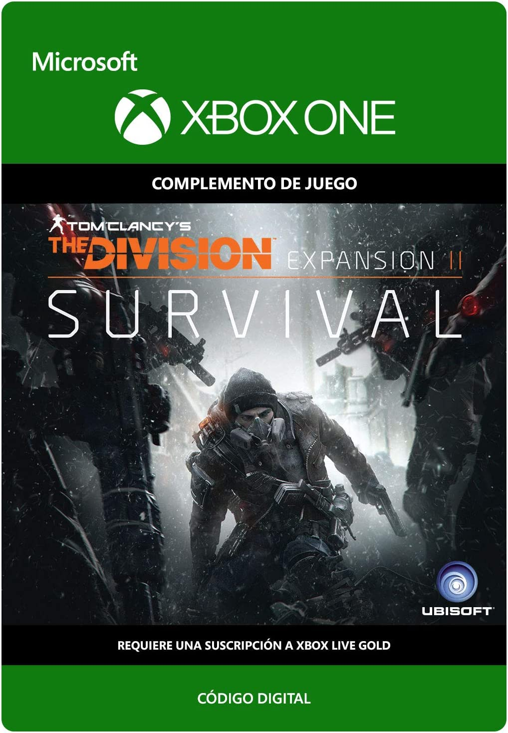 Tom Clancys The Division: Survival DLC | Xbox One - Código de ...
