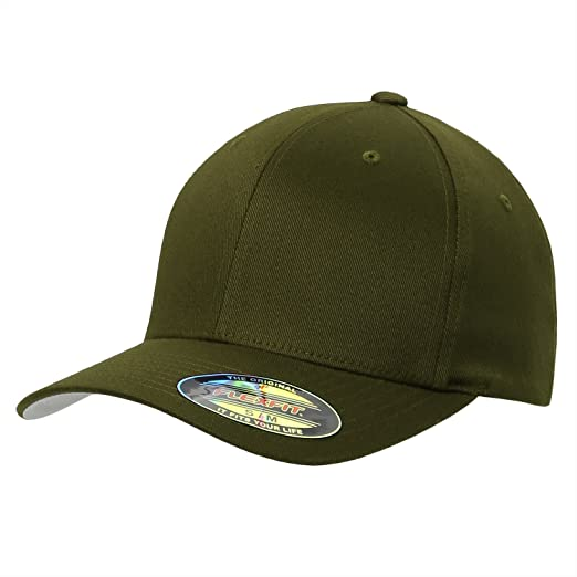 1e745d80909fe Image Unavailable. Image not available for. Color  Premium Original Flexfit  Yupoong 6277 Wooly Combed Twill 6 panel Cap