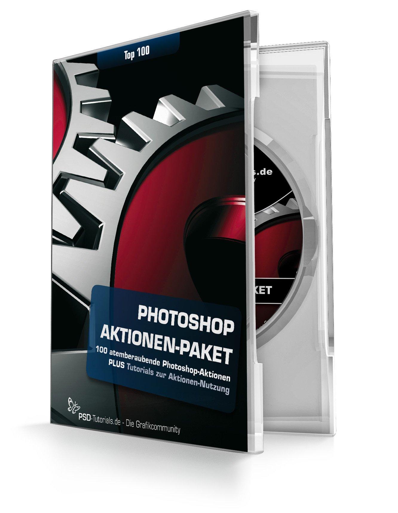 Photoshop-Aktionen-DVD - Top 100 Aktionen für Photoshop von PSD ...