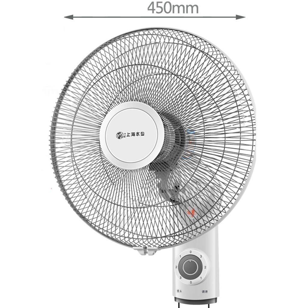 電動ファン 16インチ AS 5ブレード ダブルドローストリング 壁掛け式 ウォールファン 振動ファン (色 : 2)  2 B07GDP67C8