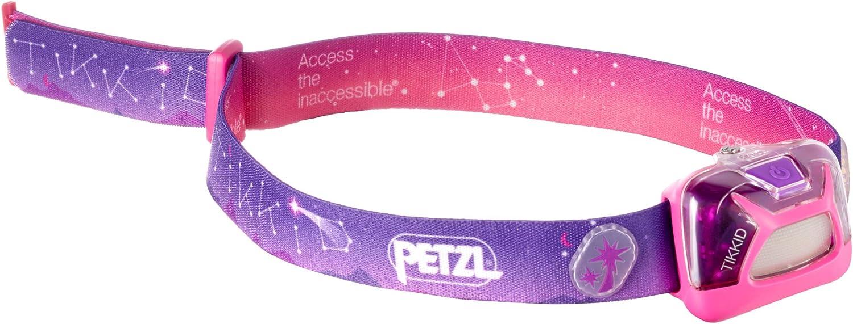 Unisex Adulto PETZL TIKKID Linterna con Cinta para Cabeza, Rosa, IPX4, CE, CPSIA, 4, 30 LM Talla /única