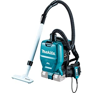 Makita XCV05Z 18V X2 LXT Lithium-Ion Brushless Cordless 1/2 Gallon HEPA Filter Backpack Vacuum