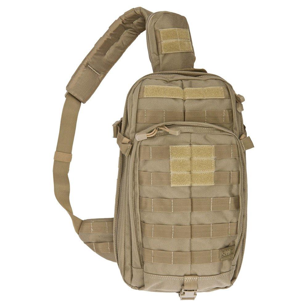 5.11 RUSH MOAB 10 Tactical Sling Bag Shoulder Pack Military Backpack, Style 56964, Sandstone