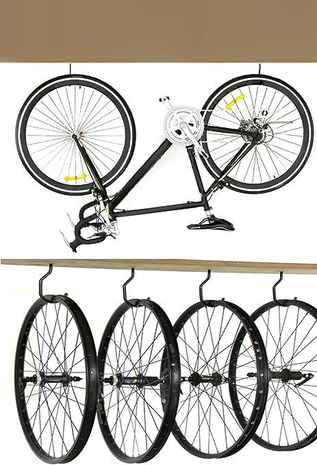 - Heavy-Duty Fits All Bike Types Easy Bike Hanger // Bike Hook Pack of 4
