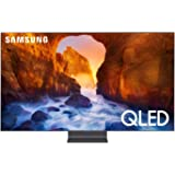 Samsung QN65Q90RAFXZA 65 inches Class Q90R QLED Smart 4K UHD TV (Renewed)