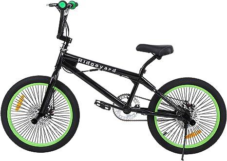 Fit Bike Co Savage Handlebar Grips for BMX Park Street Bike Black Blue or Green