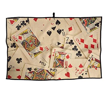 Playing Cards Pattern Sports Golf Towel 15
