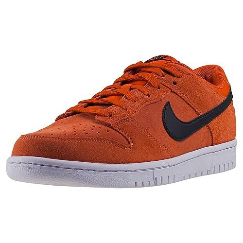 new concept ffae6 f1b2e Nike Dunk Low Mens Trainers Orange Black - 9 UK Amazon.co.uk Shoes  Bags