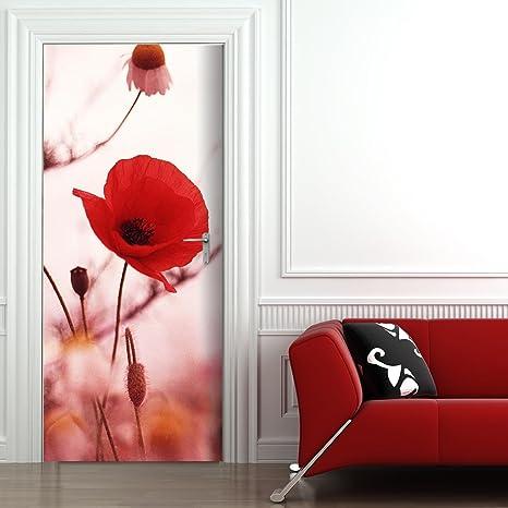 large choix de designs magasins d'usine prix officiel StickerProfis Papier Peint Autocollant pour Porte Motif ...