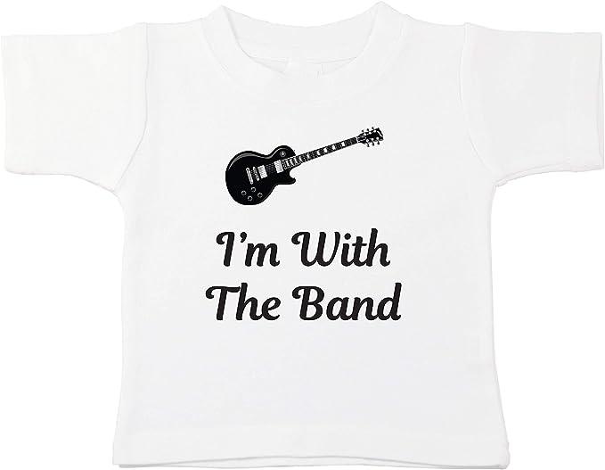 Guitar Shirt Kid Clothing Musician Toddler Shirt Toddler Shirts Boys Toddler Girl Clothes Im With The Band Toddler Shirt Kid Shirt