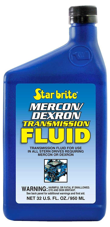 Amazon.com: Star Brite Transmission Fluid/Mercon/Dexron - 32 oz: Sports &  Outdoors