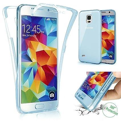 Carcasa Samsung Galaxy Note 3, Caso Funda Samsung Galaxy Note 3, JAWSEU Samsung Galaxy Note 3 Carcasa Caso Cover 360 Grados Protección Completa Skin ...