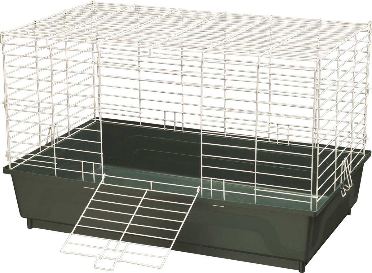 Kaytee My First Home Cage for Rabbits, Large Green, Single Pack