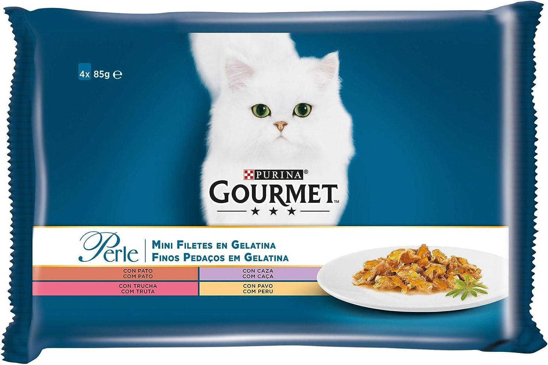 Purina Gourmet Perle Finas Láminas comida para gato en Gelatina ...