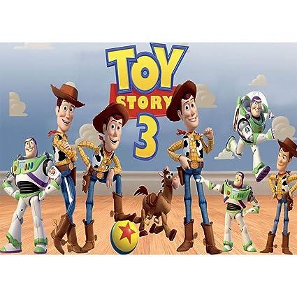 Fondo de Vinilo para fotografía, 7 x 5 pies, Toy Story Andy ...