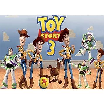 Amazon.com: Fotografía fondo de vinilo 7 x 5 pies Toy Story ...