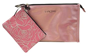 fbe23233d625 Amazon.com : Lancôme Mini Shimmery Rose-Gold Cosmetic Makeup Travel ...