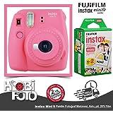 Fujifilm Instax Mini 9 +20'li Film+Askı (pembe)