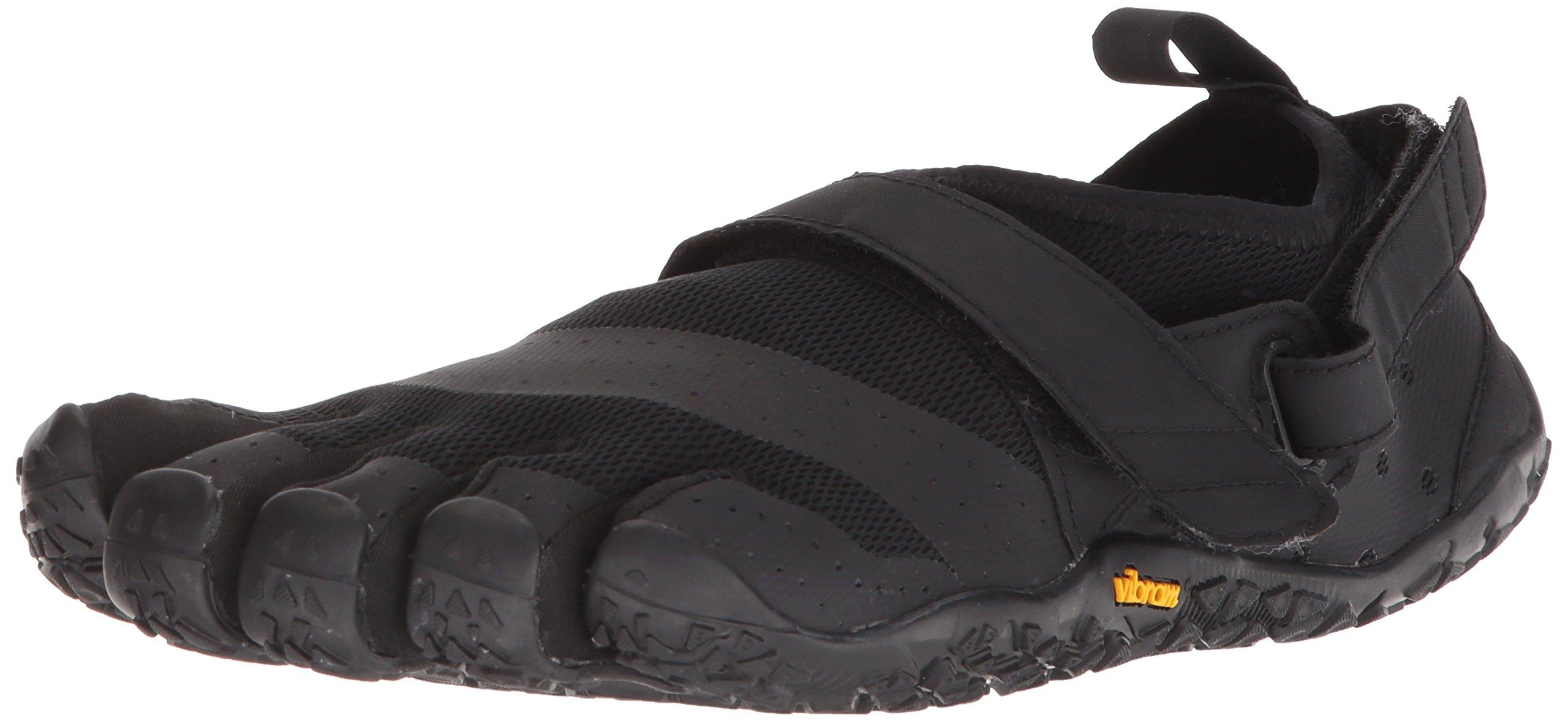 Vibram Men's V-Aqua Walking Shoe, Black, 45 EU/11.0-11.5 M US D EU (45 EU/11.0-11.5 US US)