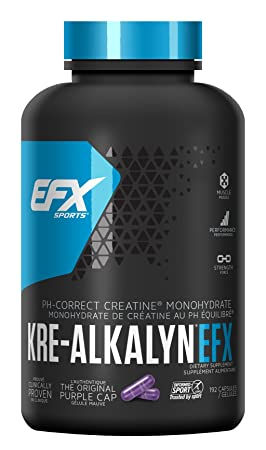 All American EFX Kre-Alkalyn for Muscle Growth Performance – 20 More Free, 192 Total