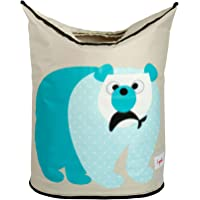 3 Sprouts Laundry Hamper - Polar Bear, Blue, 1 Count