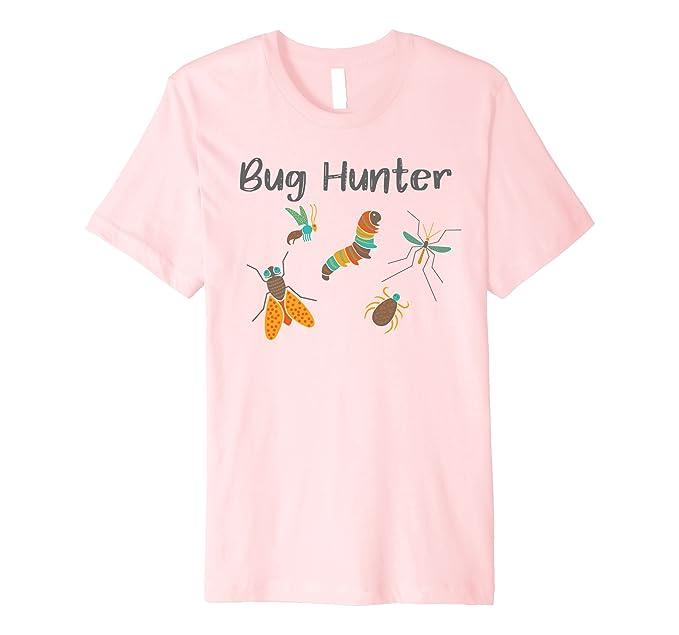 mens bug hunter t shirts for girls christmas insect collecting 2xl pink - Girls Christmas Shirts