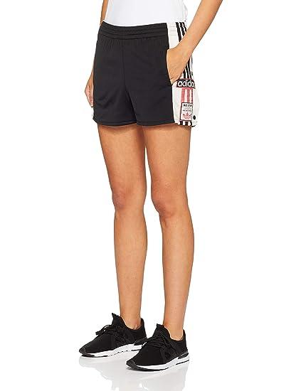 adidas - Pantaloncini Corti, Donna, Donna, Nero, 44: Amazon ...
