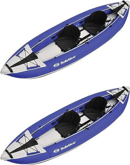 Amazon.com: Solstice Durango - Kayak de agua blanca inflable ...