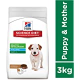 Hill's Science Diet Puppy Healthy Development, Small Bites Lamb Meal and Rice Dry Dog Food, 3 kg