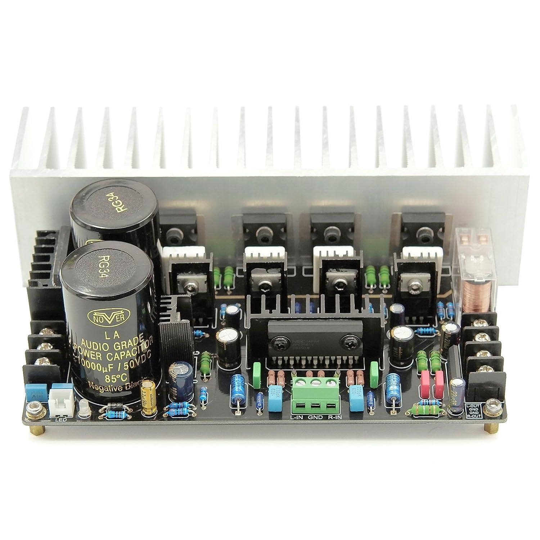 Wingostore 120w Mosfet Power Amplifier Irfp240 Irfp9240 200w Circuit Design Home Audio Theater