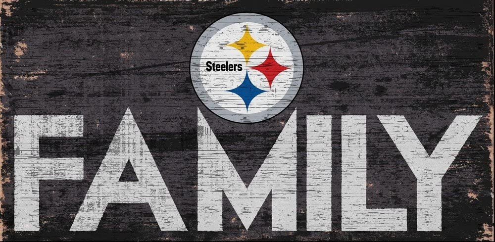 Fan Creations Pittsburgh Steelers Family Sign, Multi