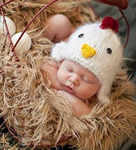 hobees Cute recién nacido niño niña disfraz de bebé punto ...