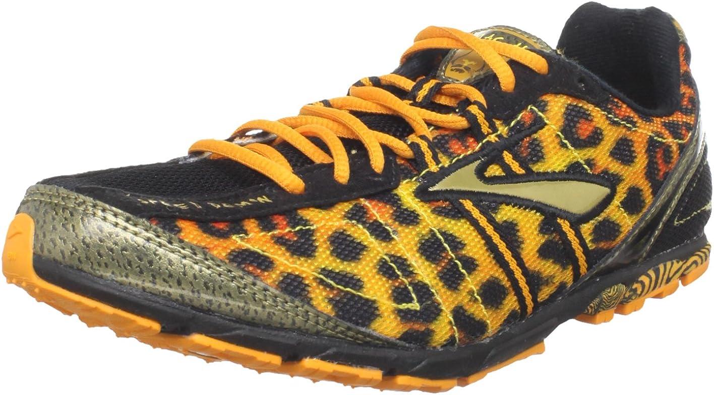 Broks Mach 13 - Pinchos para Correr para Mujer, Color Negro y Naranja, Talla 4K, Ancho B: Amazon.es: Zapatos y complementos
