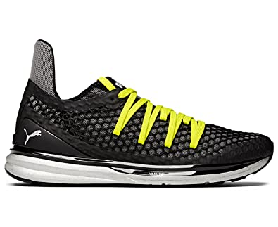 premium selection 269b7 df49a Image Unavailable. Puma Men s Ignite Limitless Netfit Shoe Puma Black Nrgy  Yellow