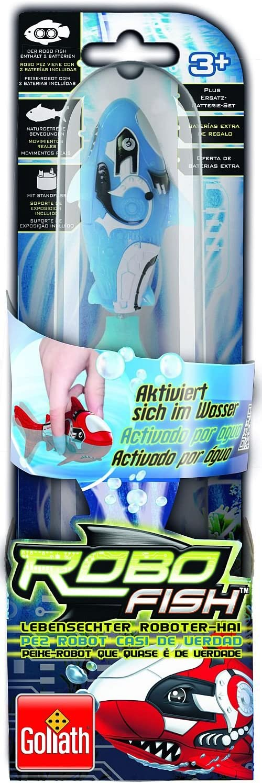 Goliath Toys 32530006 Squalo Robot, Colore: Blu
