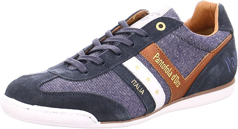 Pantofola d´ORO Herren Loreto Low Men Sneakers, Blau (Blue