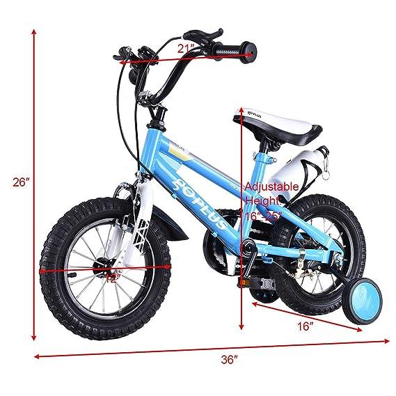 Amazon Goplus Bmx Freestyle Kids Bike Boys And Girls Bicycle