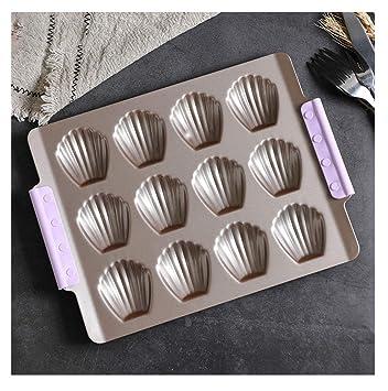 Molde de metal para hacer cubitos de hielo, caramelos y gelatina, para hacer pan