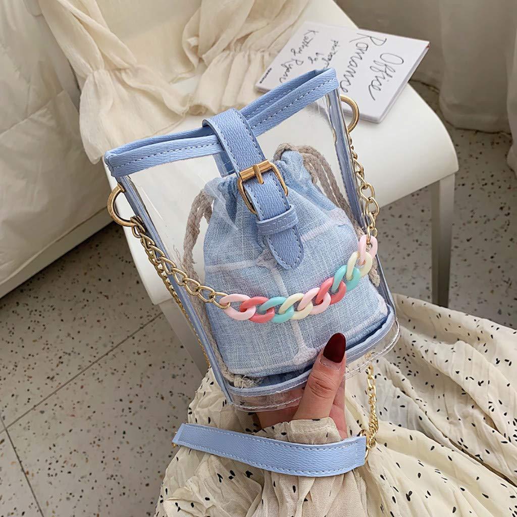 KLGDA Womens Fashion Shoulder Bag Casual Personality Pocket Bag Snake Leather Chain Bag Solid Color Diagonal Bag Totes