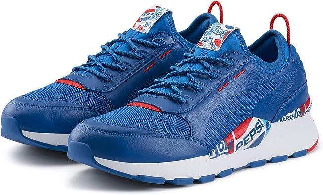Puma x Pepsi Max RS 0 Chaussures de Course pour Homme