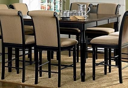 Amazoncom Coaster Cabrillo Counter Height Two Tone Dining Table - Counter height table for two