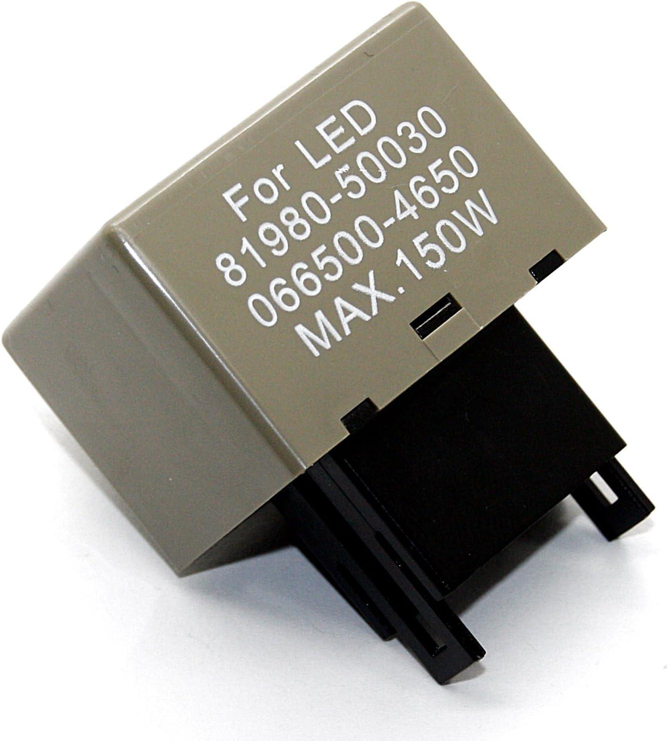 4650 50030/EP 27/Flasher Clignotant Signal clignotant Relais 066500 Relais 81980