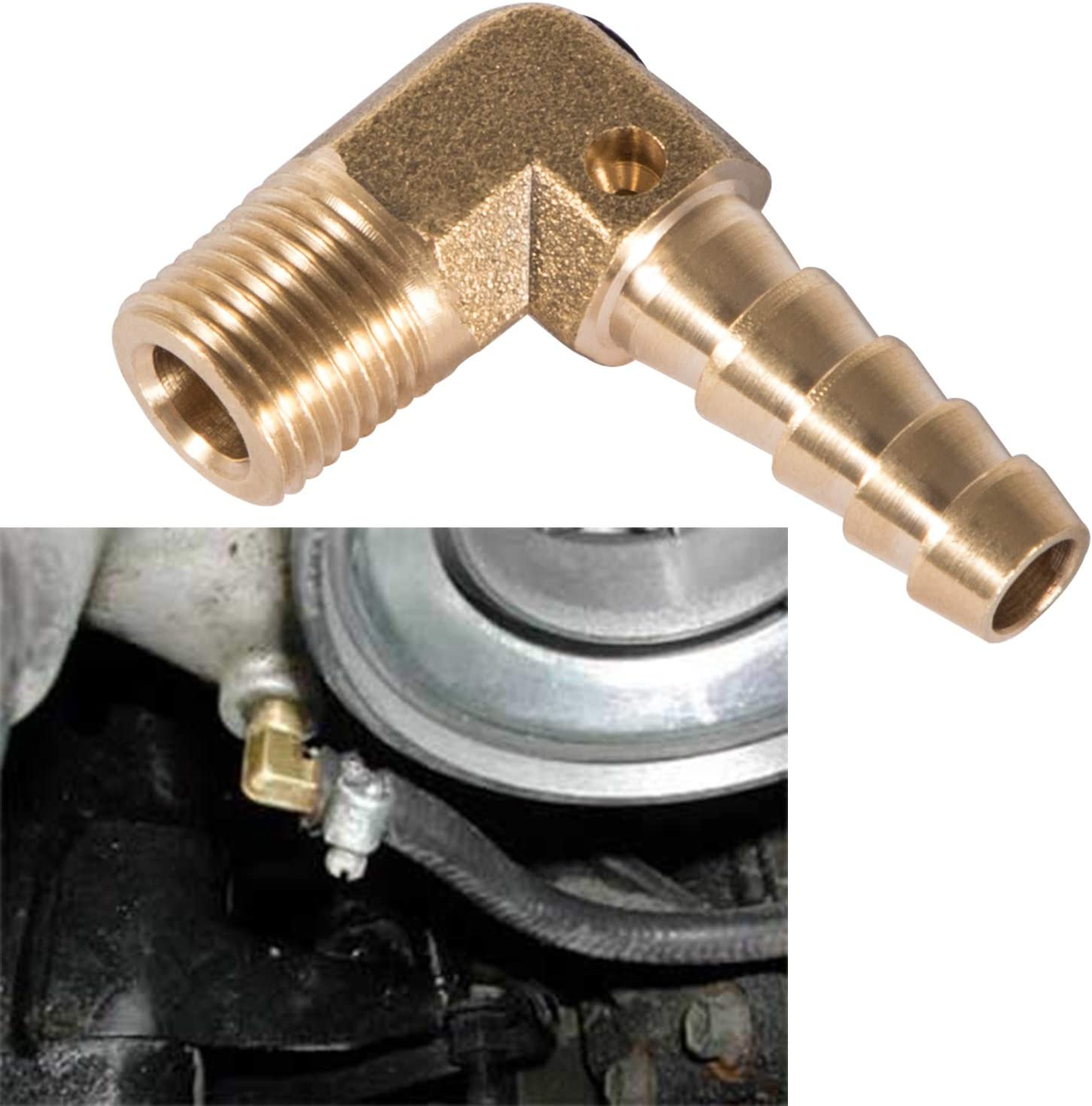 Adjustable Boost Elbow Controller Brass For Dodge Cummins 1994 ...